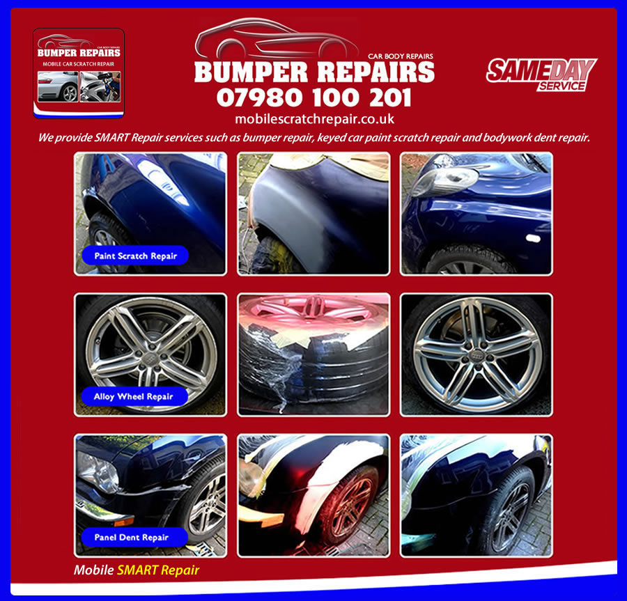 mobile car scratch repair Hampstead Heath N6